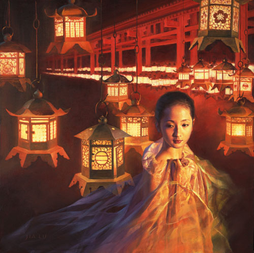 Temple Light by jialu
