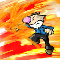 OLIMAR PUNCH by cherriegal