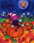 Happy Halloween from Vivian