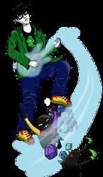 Commission: Air Guitar John