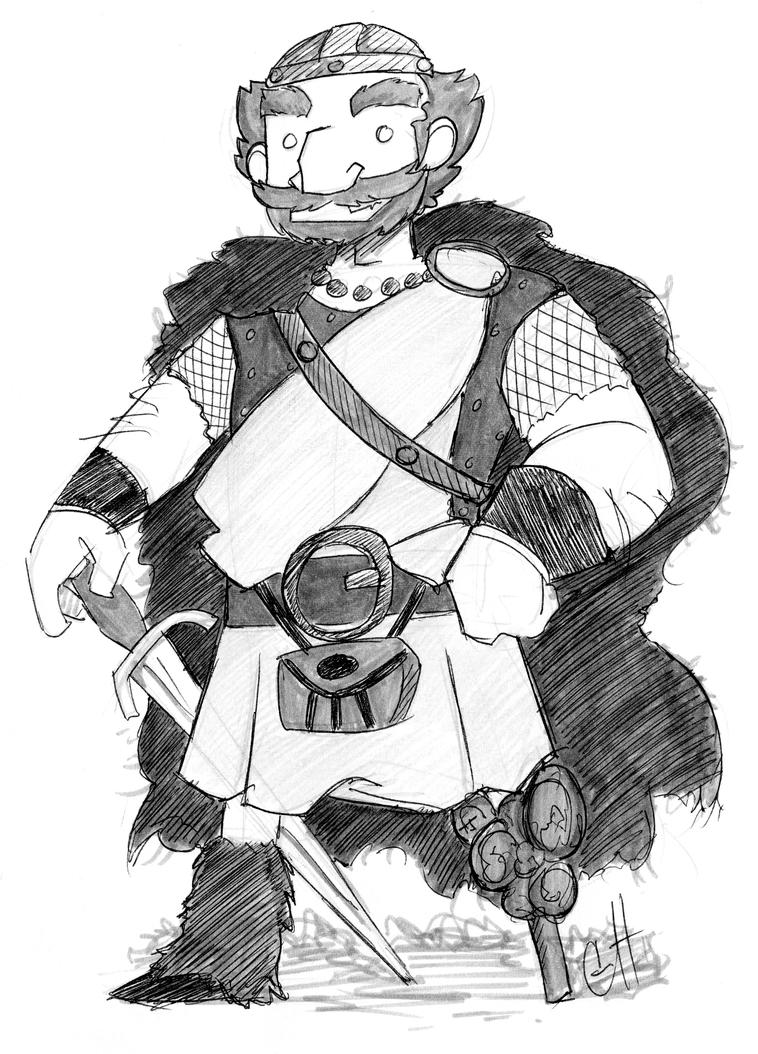 Brave: King Fergus by Kootani