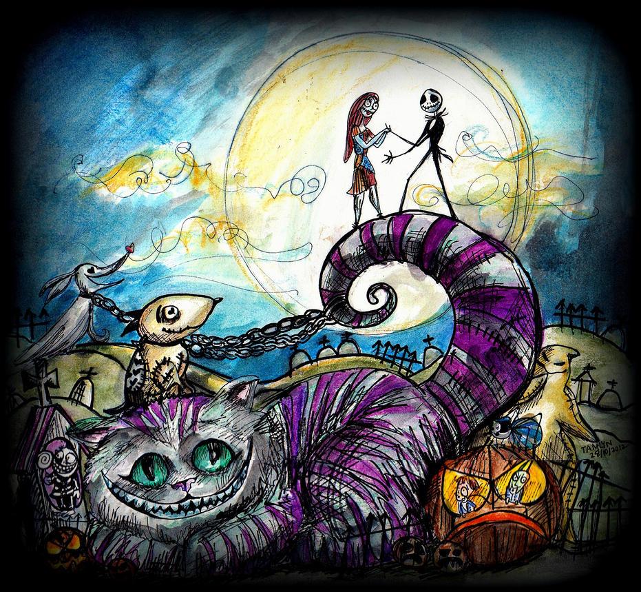 Tim Burton's Halloween Party by TamiTw
