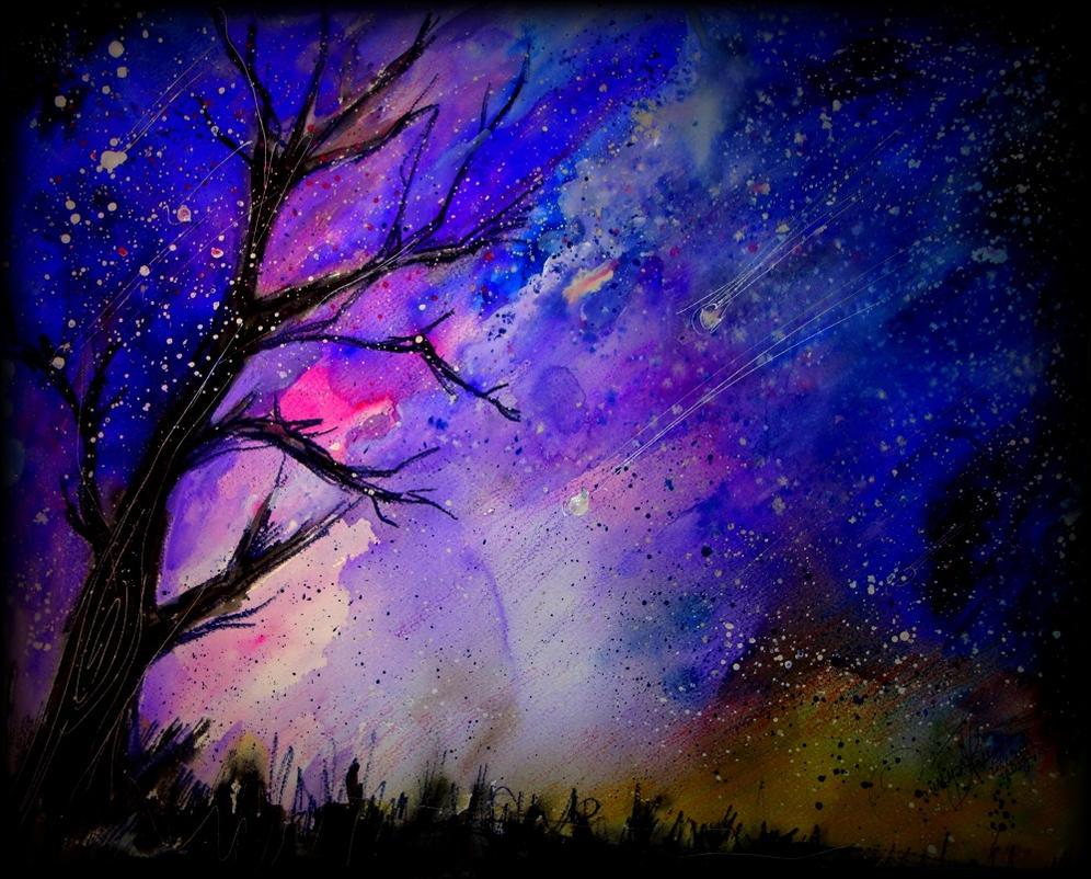 An Unusual Night Sky By Tamitw On Deviantart