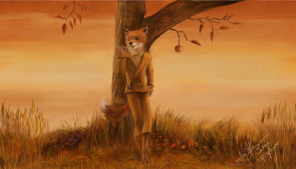 Fantastic Mr Fox By Tamitw On Deviantart