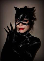Burton's Catwoman by TamiTw