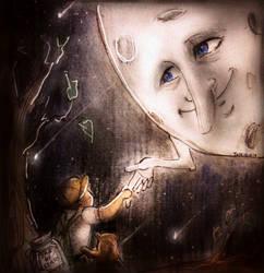When he met the Moon by TamiTw