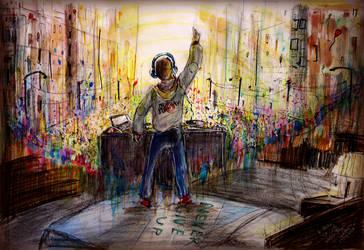 DJ Ju5tin by TamiTw
