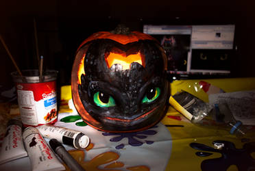 Toothless Pumpkin