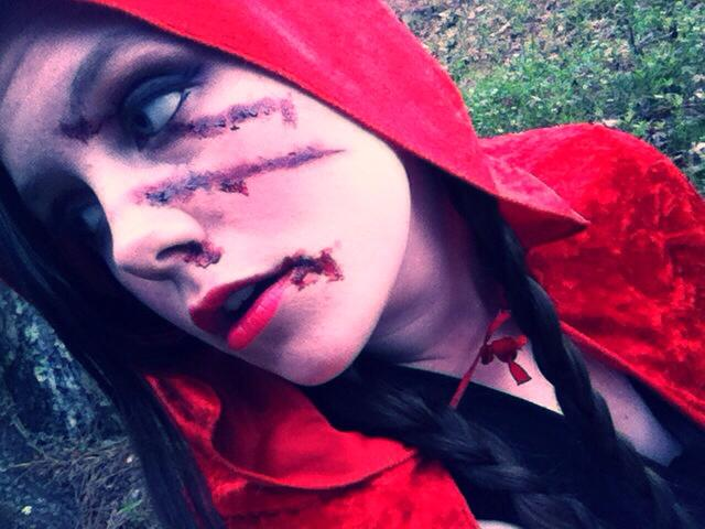 Red Riding Hood by krisheena