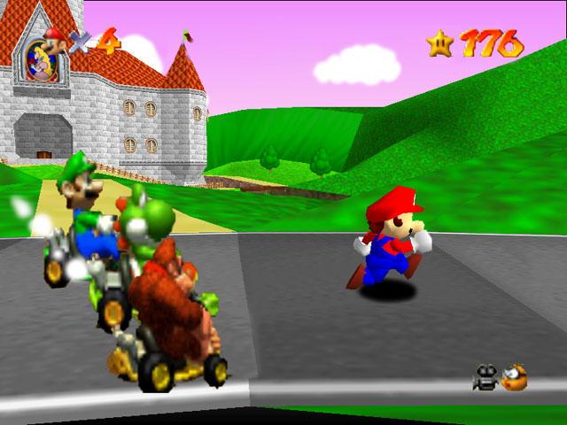 Mario will get ran over by ZeldaFreak108