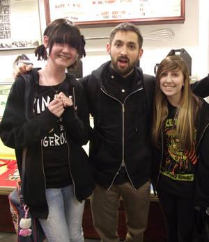 Me, Kyra and Johnny