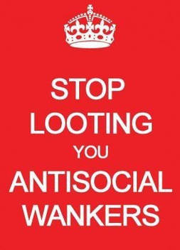 Stop Looting...