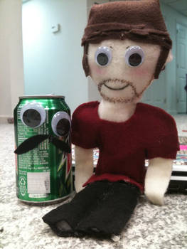 Plushie Ian 1 -voodoo doll-
