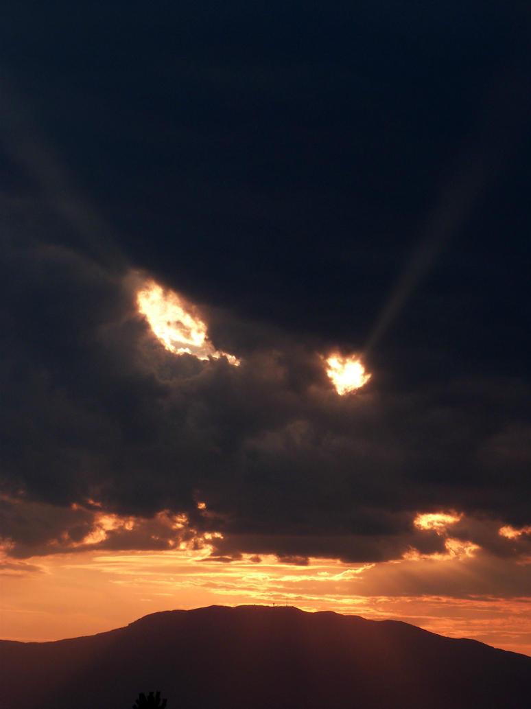dragon in the sky by Arrakis7