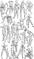 Female Power Poses -Anatomy 2