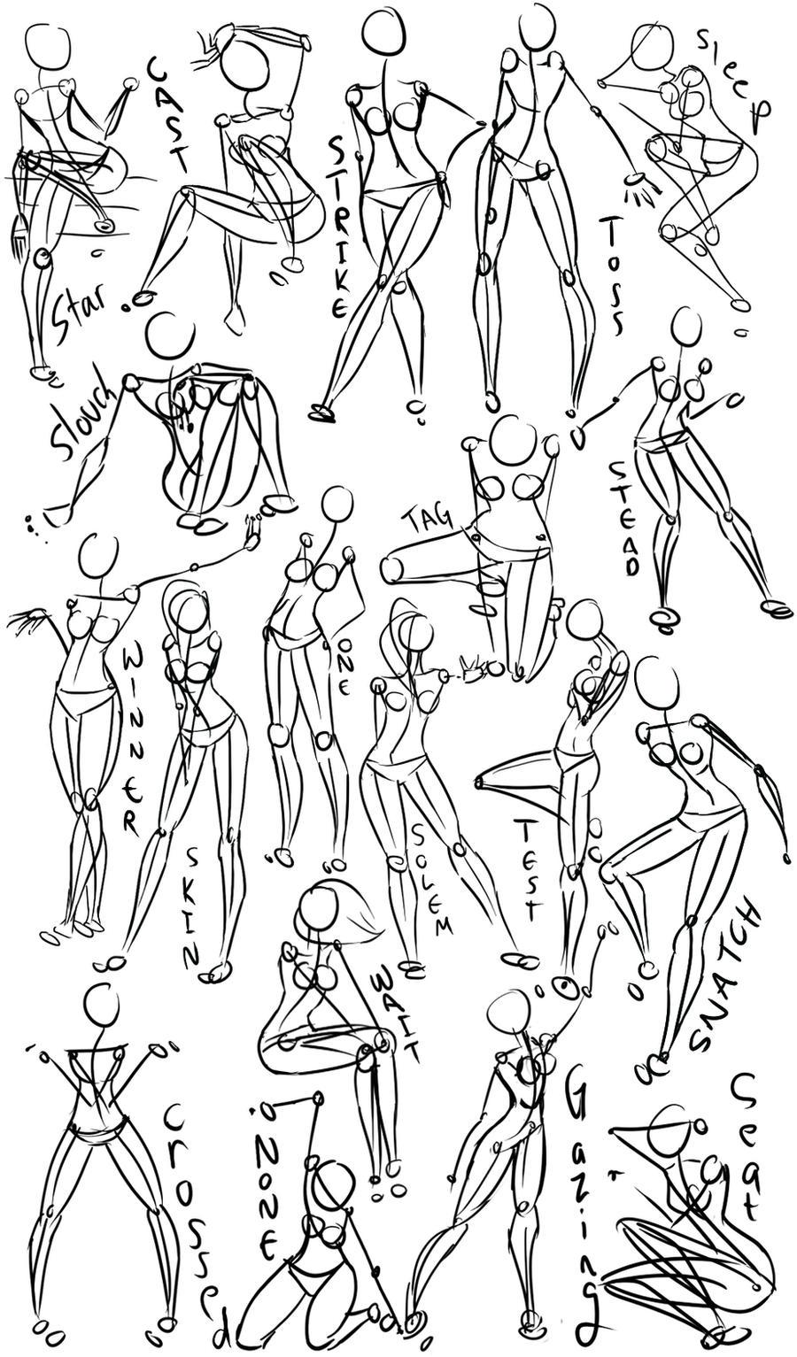 how to draw female anatomy anime
