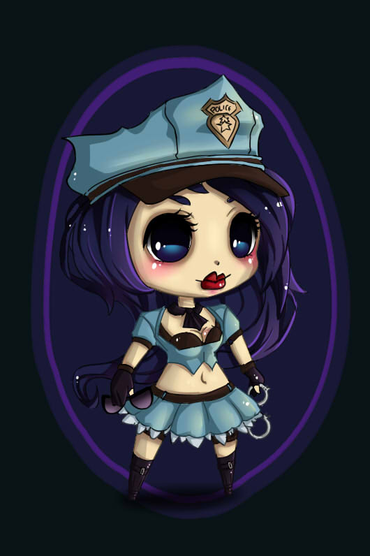 Caitlyn Chibi by OryxPixie on DeviantArt