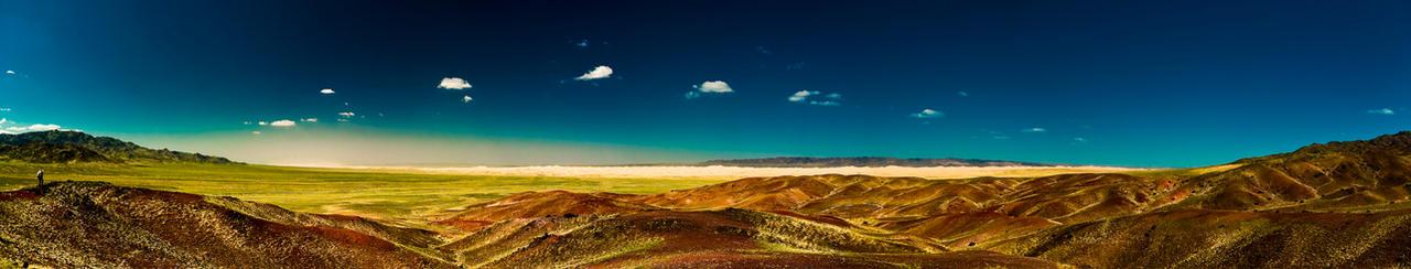 mongolia panaroma by geologysos