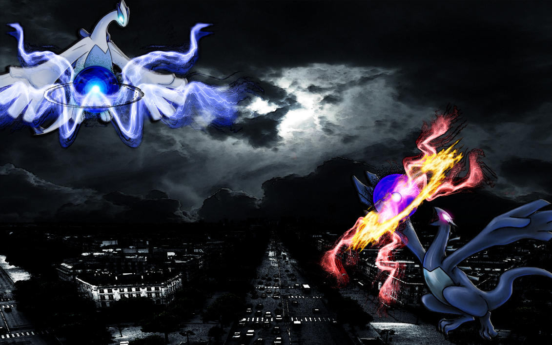 Lugia Vs Shadow Lugia The Movie LUGIA vs SHADOW LUGIA ...