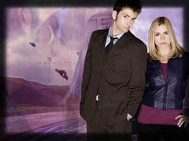 The Doctor and Rose by JinROCKS