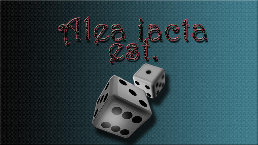 jacta alia est decisions decisions Psych 205 november 10 th 2009 outline outline: jacta alia est: decisions, decisions i translation: the die is cast - said by julius caesar - interpretation: this is a latin phrase that is still used today.