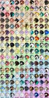 Peafowl Friesian Visual Directory - Stallions