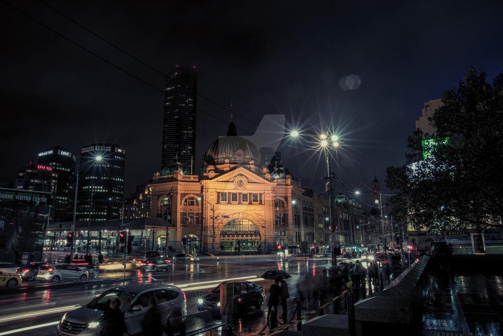 Flinders Street2 by MatthewDJones