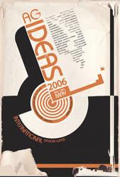 AG Ideas Poster - Bauhaus-esq by MatthewDJones