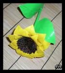 Duct Tape Sunflower by DuckTapeBandit