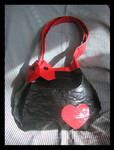Duct Tape Heart Purse