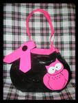 Pink Owl Purse by DuckTapeBandit