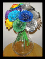 Basic and Neutral Roses by DuckTapeBandit
