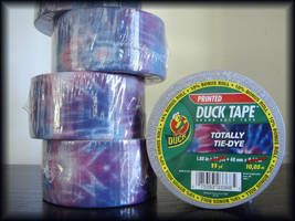Totally Tie-Dye Duct Tape