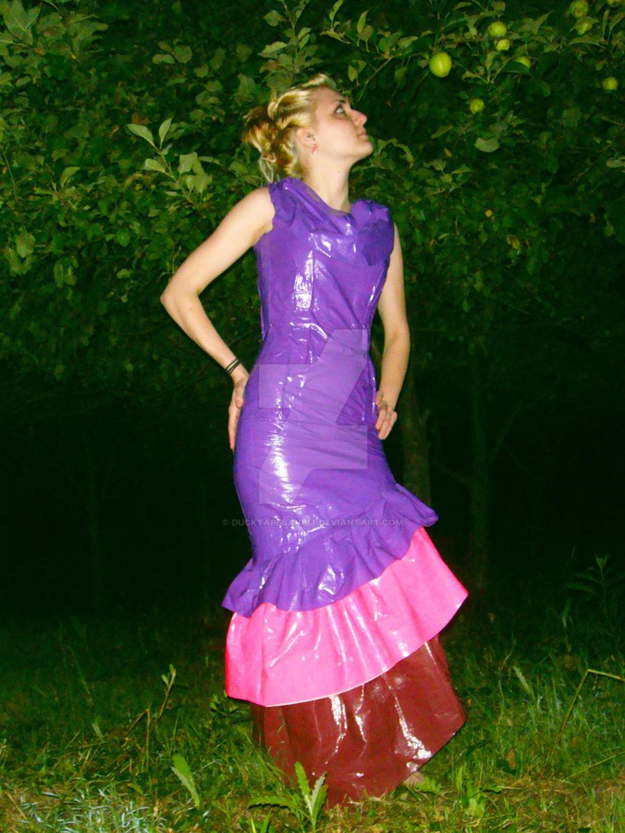 Duct Tape Dress III by DuckTapeBandit on DeviantArt  Duct