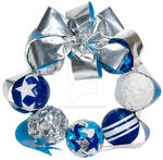 Duct Tape Ornament Wreath by DuckTapeBandit