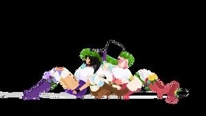 |MMD||Aphmau||DL| Summer Girls :3 by Minako24770