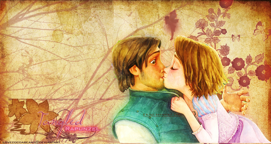 Tangled Wallpaper Rapunzel And Flynn Download