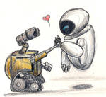 Wall-e Eve Sketchiness