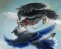 Flying Dreams by silvermoonnw