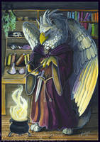 Gryphon Tarot - The Magician by silvermoonnw