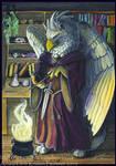 Gryphon Tarot - The Magician