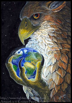 Gryphon Tarot: The World