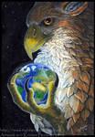 Gryphon Tarot: The World