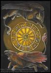 Gryphon Tarot: Rota Fortuna
