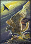 Gryphon Tarot - The Fool