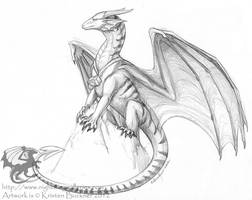 Sketch Commission - Lotheakor by silvermoonnw