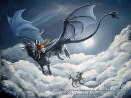 Warrior Rider by silvermoonnw