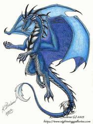Magi Dragon by silvermoonnw