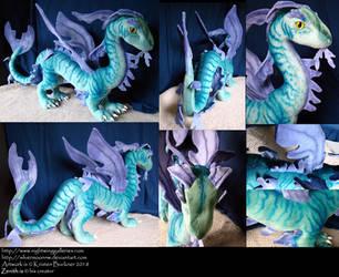 Zenith - Leafy Sea Dragon Dragon Soft Sculpture by silvermoonnw