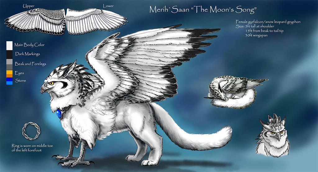 MerihSaan Gryphon Ref 2018 by silvermoonnw